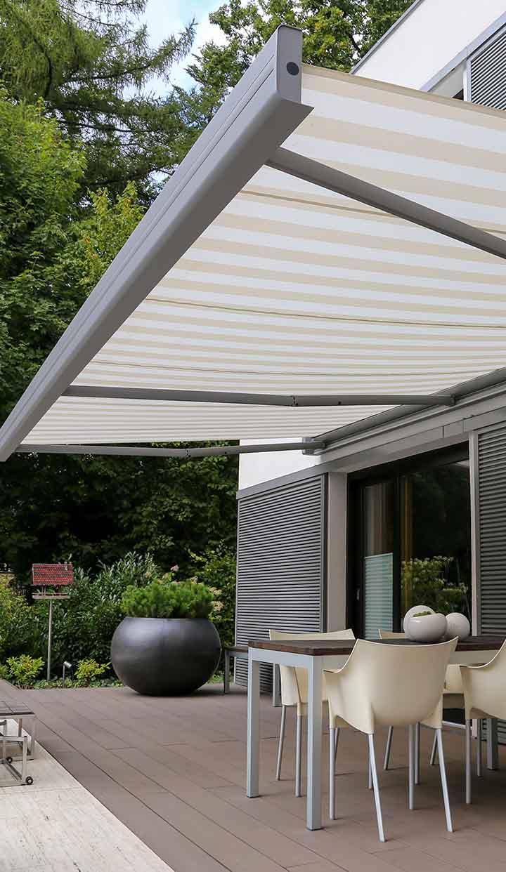 Markisen - Praktischer Sonnenschutz für Ihre Terrasse