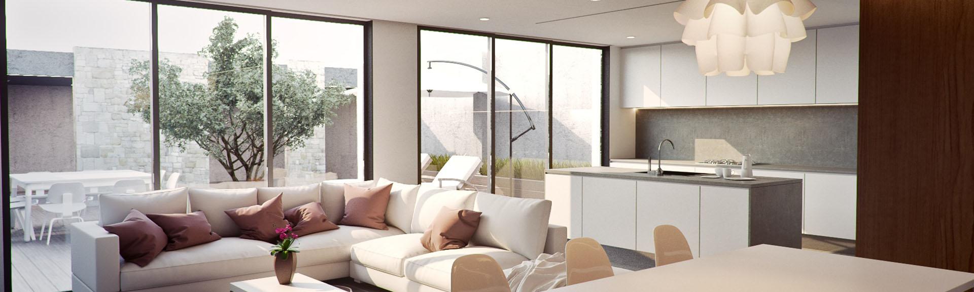 Glasfronten - Für helle, lichtdurchflutete Zimmer