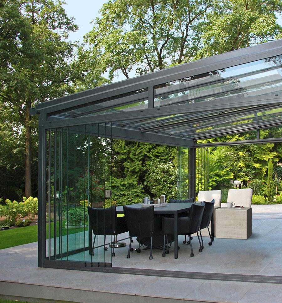 Glasüberdachungen - Werten Sie Ihre Terrasse auf.
