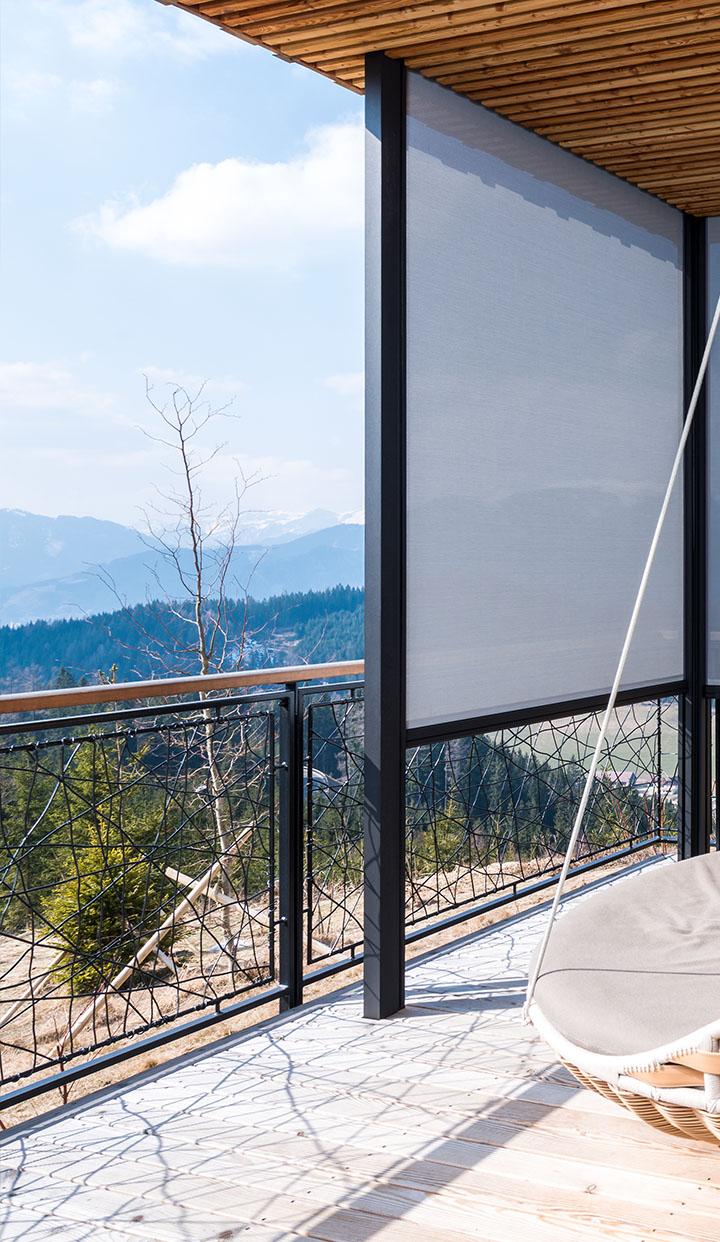 Textilscreens - Lichtdurchlässiger, moderner Sichtschutz für Ihre Fenster