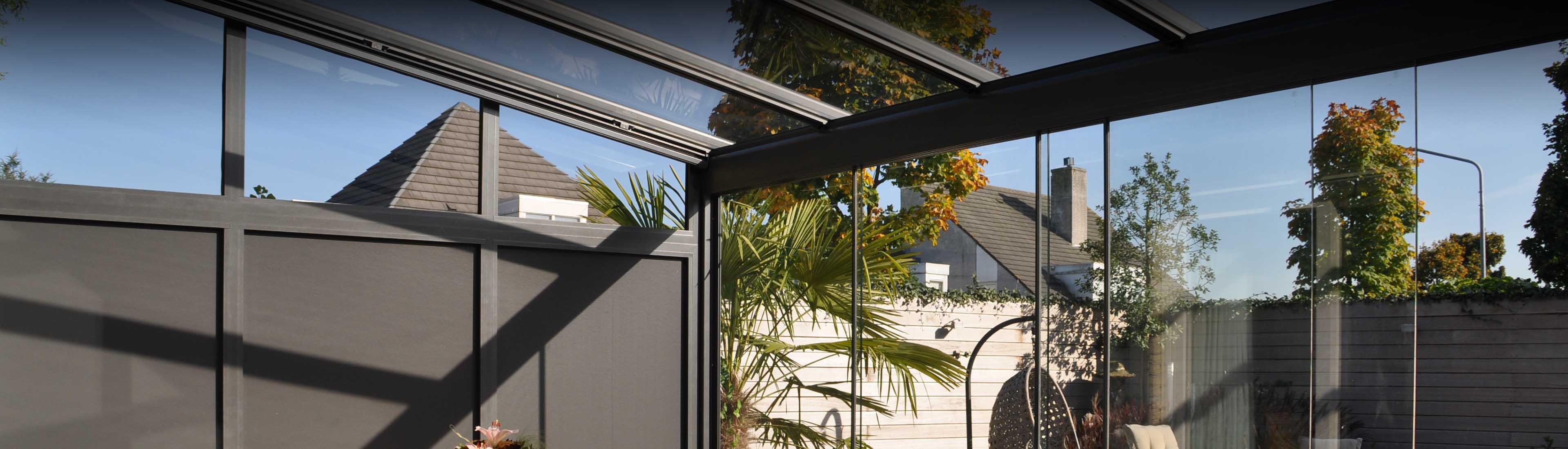 Glasüberdachungen